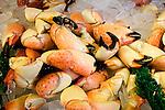 King Crab Claws, Garcia's Restaurant, Downtown, Miami, Florida