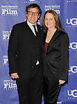 David O. Russell and Melissa Leo arriving at the 29th Santa Barbara International Film Festival which honored David O. Russell with the outstanding Director Award. Held at the Arlington Theatre Santa Barbara, CA. on January 31, 2014.