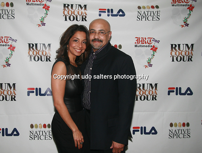 Janice Marshall and Dogulas Oliver Attend Jocelyn Taylor's Birthday Celebration and Official Launch of JRT Multimedia, LLC <br /> (A Luxury Branding Company)at Nikki Beach Midtown, New York, 3/26/2011