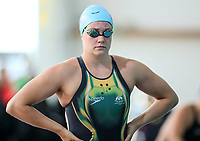 Paige Flynn, 200m Freestyle. Swimming New Zealand National Short Course Championships, National Aquatic Centre, New Zealand,Tuesday 2nd October 2018. Photo: Simon Watts/www.bwmedia.co.nz