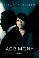 Acrimony (2018) <br /> POSTER ART<br /> *Filmstill - Editorial Use Only*<br /> CAP/KFS<br /> Image supplied by Capital Pictures
