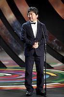 Hirakazu Kore-eda  during the 61st San Sebastian International Film Festival's opening ceremony, in San Sebastian, Spain. September 20, 2013. (ALTERPHOTOS/Victor Blanco) /NortePhoto