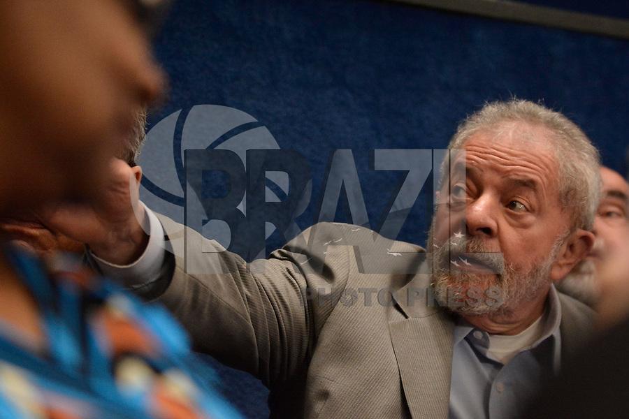 BRASILIA, DF – 29.08.2016 – SENADO–IMPEACHMENT – O ex-presidente Luíz Inácio Lula da Silva durante sessão, que discute e vota o seu impeachment no Senado Federal em Brasília. A presidente afastada vem ao Senado para fazer sua defesa nesta segunda-feira, 29. (Foto: Ricardo Botelho/Brazil Photo Press)
