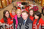 Launching the '2008 Passion for Fashion' fashion show which will be held in Killarney Outlet Centre in aid of Kerry Cystic Fibrosis on the 13th March at the Outlet Centre last Thursday were l-r: Amanda McSweeney, Hazel Ramsey, Orla Walsh, Paul Sheery, Brinana Kelly and Jessica Murphy   Copyright Kerry's Eye 2008