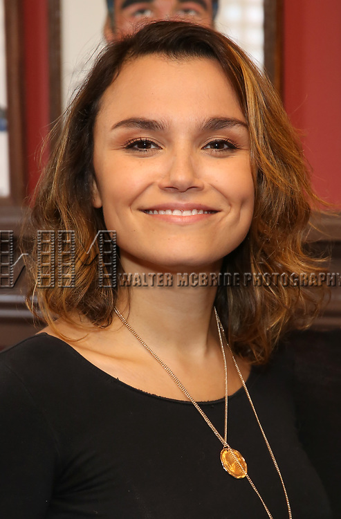 Samantha Barks during the Sardi's Portrait unveiling for Orfeh on July 18, 2019 in New York City.