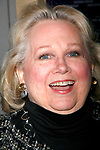 Barbara Cook arriving for the Opening Night Performance of Arthur Miller's ALL MY SONS at the Gerald Schoenfeld Theatre in New York City.<br />