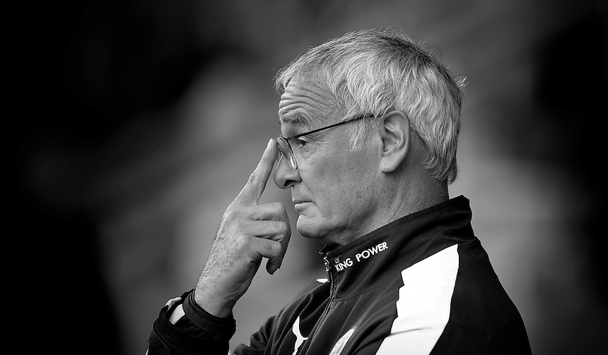 Leicester City's Manager Claudio Ranieri<br /> <br /> Photographer Dave Howarth/CameraSport<br /> <br /> Football - Football Friendly - Burton Albion v Leicester City - Tuesday 28th July 2015 - Pirelli Stadium - Burton upon Trent<br /> <br /> &copy; CameraSport - 43 Linden Ave. Countesthorpe. Leicester. England. LE8 5PG - Tel: +44 (0) 116 277 4147 - admin@camerasport.com - www.camerasport.com