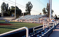 Ballparks: Bakersfield, CA. Sam Lynn Ballpark, home of Bakersfield Blaze of CA. League, 2000.