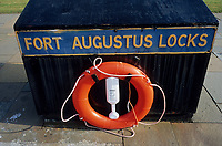 Europe/Grande Bretagne/Ecosse/Highland/Fort Augustus : Le port sur le canal calédonien et une de ses six écluses qui traverse le village