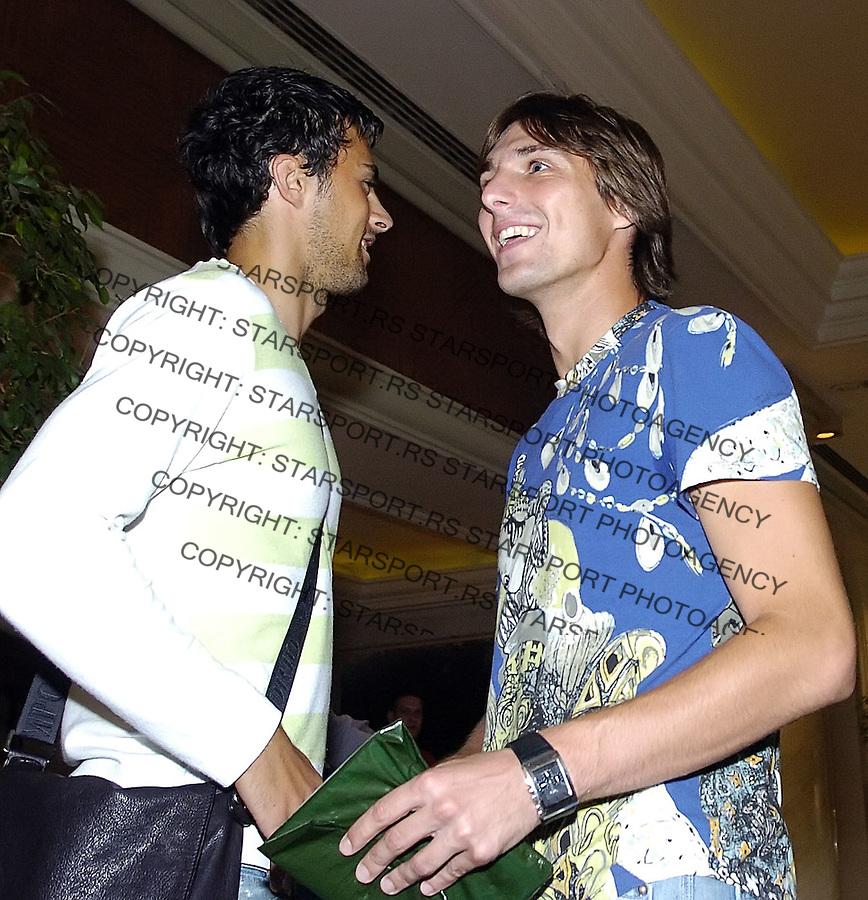 SPORT SOCCER FOOTBALL FUDBAL SRBIJA SERBIA NATIONAL TEAM REPREZENTACIJA OKUPLJANJE Basa  Trisovic 13.8.2006. foto: Pedja Milosavljevic<br />