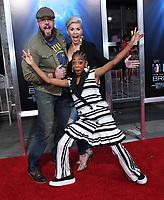 "11 April 2019 - Westwood, California - Chris Sullivan, Eris Baker. ""Breakthrough"" Los Angeles Premiere held at Regency Village Theater. Photo Credit: Birdie Thompson/AdMedia"