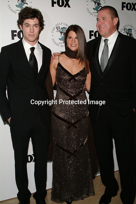 Adam Brody, Barbara Grushow &amp; Sandy Grushow<br />