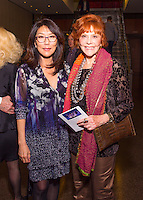 Bonnie Oda Homsey and Glorya Kaufman attend the Barak Ballet Champagne Reception at the Wallis Annenberg Center for the Performing Arts in Beverly Hills, CA on June 11, 2016 (Photo by Inae Bloom/Guest of a Guest)