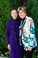 LOS ANGELES - OCT 8:  Gail Abarbanel, Gloria Allred at the The Rape Foundation's Annual Brunch at the Private Residence on October 8, 2017 in Beverly Hills, CA