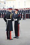 The Duke of Cambridge attends the Sovereign's Parade at the Royal Military Academy Sandhurst, UK