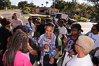 FORT LAUDERDALE, FL - NOVEMBER 03: Kerry Washington participates in OFA-'Its On You' Early Vote event on November 3, 2012 in Fort Lauderdale, Florida. © MPI10/MediaPunch Inc /NortePhoto .<br />