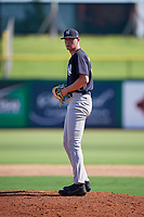 New York Yankees pitcher Tanner Myatt (37) gets ready to deliver a pitch during a Florida Instructional League game against the Philadelphia Phillies on October 12, 2018 at Spectrum Field in Clearwater, Florida.  (Mike Janes/Four Seam Images)