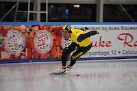 SCHAATSEN: LEEUWARDEN, 22-10-2016, Elfstedenhal,  KNSB Trainingswedstrijden, Kjeld Nuis, ©foto Martin de Jong