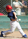 Los Altos Little League Majors, Yankees vs Rangers on Opening Day, March 17, 2013..
