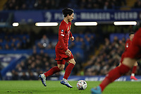 3rd March 2020; Stamford Bridge, London, England; English FA Cup Football, Chelsea versus Liverpool; Takumi Minamino of Liverpool