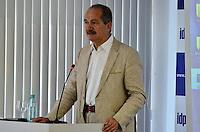BRASÍLIA, DF, 07.02.2014 – PALESTRA LUÍZ FELIPE SCOLARI – TEMA:COPA DO MUNDO NO BRASIL - PREPARAÇÃO PARA GRANDES EVENTOS E PARA A VIDA. O Ministro do Esporte Aldo Rebelo durante palestra no Instituto Brasiliense de Direito Público (IDP) em Brasília, na manhã desta sexta-feira, 07. (Foto: Ricardo Botelho / Brazil Photo Press).