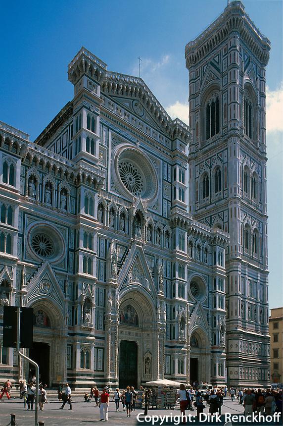Dom, Florenz, Toskana, Italien, Unesco-Weltkulturerbe