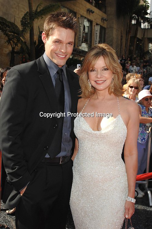 Justin Bruening and Bobbie Eakes..arriving at The 34th Annual Daytime Emmy Awards on ..June 15, 2007 at The Kodak Theatre in Hollywood, California. ..Robin Platzer, Twin Images......212-935-0770