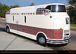 General Motors Futurliner #9, built 1940, refurbished 1953, converted to motor home 1984 by Bob Valdez, Sherman Oaks, California