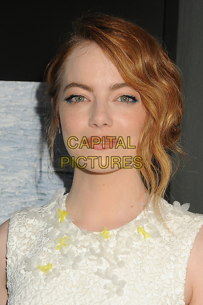 9 July 2015 - Beverly Hills, California - Emma Stone. &quot;Irrational Man&quot; Los Angeles Premiere held at the WGA Theatre.  <br /> CAP/ADM/BP<br /> &copy;Byron Purvis/AdMedia/Capital Pictures