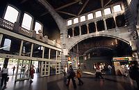 Belgien, Flandern, Sint Pieters-Bahnhof (Jugendstil) in Gent