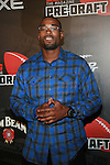 Calvin Johnson Attends ESPN The Magazine Presents the Ninth Annual Pre-Draft Party at The Waterfront,   NY  4/25/12