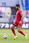 Abdulla Yusuf Helal of Bahrain in action during the AFC Asian Cup UAE 2019 Group A match between Bahrain (BHR) and Thailand (THA) at Al Maktoum Stadium on 10 January 2019 in Dubai, United Arab Emirates. Photo by Marcio Rodrigo Machado / Power Sport Images