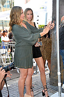 LOS ANGELES, CA. October 24, 2019: Jill Goodacre & Georgia Connick at the Hollywood Walk of Fame Star Ceremony honoring Harry Connick Jr.<br /> Pictures: Paul Smith/Featureflash