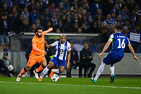 Liverpool's Mohamed Salah in action <br /> <br /> Photographer Craig Mercer/CameraSport<br /> <br /> UEFA Champions League Round of 16 First Leg - FC Porto v Liverpool - Wednesday 14th February 201 - Estadio do Dragao - Porto<br />  <br /> World Copyright &copy; 2018 CameraSport. All rights reserved. 43 Linden Ave. Countesthorpe. Leicester. England. LE8 5PG - Tel: +44 (0) 116 277 4147 - admin@camerasport.com - www.camerasport.com