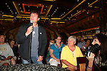Frank Dicopoulos (MC) and fans at Meet & Greet - Day 2 - August 1, 2010 - So Long Springfield at Sea aboard Carnival's Glory (Photos by Sue Coflin/Max Photos)