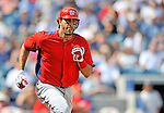 5 March 2011: Washington Nationals' fielder Michael Morse in action during a Spring Training game against the New York Yankees at George M. Steinbrenner Field in Tampa, Florida. The Nationals defeated the Yankees 10-8 in Grapefruit League action. Mandatory Credit: Ed Wolfstein Photo