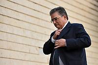 BRASÍLIA, DF, 20.06.2017 – AÉCIO-DF – Advogados de defesa do senador afastado Aécio Neves, chegam à casa do senador no Lago Sul em Brasília, após julgamento no Supremo Tribunal Federal nesta terça-feira, 20. (Foto: Ricardo Botelho/Brazil Photo Press)