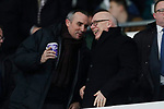 Northampton Tow owner Kelvin Thomas (r) and Derby County owner Mel Morris (l) during the FA Cup match at the Pride Park Stadium, Derby. Picture date: 4th February 2020. Picture credit should read: Darren Staples/Sportimage