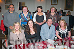 The Kerry branch of Arthritis Ireland held their annual general meeting in Cassidy's, Tralee last Saturday night where topics included their forth coming Guinness book of records attempt for the most 'Ghosts' gathered in Denny St, Tralee right after the Tralee St Patrick's day parade this year (seated) l-r: Amanda Cubeddy, Teresa Crowley, Tom Barrett and Caroline Kennedy. Back l-r: Lorenzo Cubeddy, Delores Harrington, Deborah Barrett and Josephine Sheehan.
