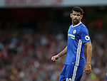 Chelsea's Diego Costa in action during the Premier League match at the Emirates Stadium, London. Picture date September 24th, 2016 Pic David Klein/Sportimage