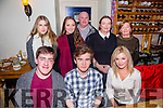 Cathal O'Murchu from Castelwood Park, Tralee celebrating his 18th birthday with family and friends on Saturday night at Bella Bia's . Front l-r  Aaron Ferris, Cathal O'Murchu and Joanne Tracey. Back l-r  Marie Daly, Sarah Ferris, Ger Ferris, Siobhan Ferris and Margaret Fitzgerald.