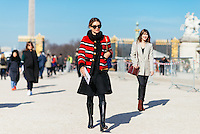 Natalie Massenet at Paris Fashion Week (Photo by Hunter Abrams/Guest of a Guest)