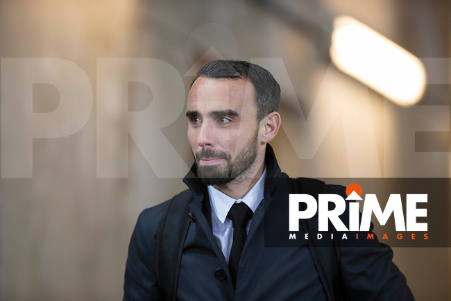 Leon Britton of Swansea City arrives ahead of the EPL - Premier League match between Swansea City and Manchester City at the Liberty Stadium, Swansea, Wales on 13 December 2017. Photo by Mark  Hawkins / PRiME Media Images.
