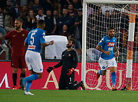 Alisson  during the  italian serie a soccer match, AS Roma -  SSC Napoli       at  the Stadio Olimpico in Rome  Italy , 14 ottobre 2017