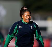 2nd February 2020; Energia Park, Dublin, Leinster, Ireland; International Womens Rugby, Six Nations, Ireland versus Scotland; Sene Naoupu of Ireland warms up prior to kickoff