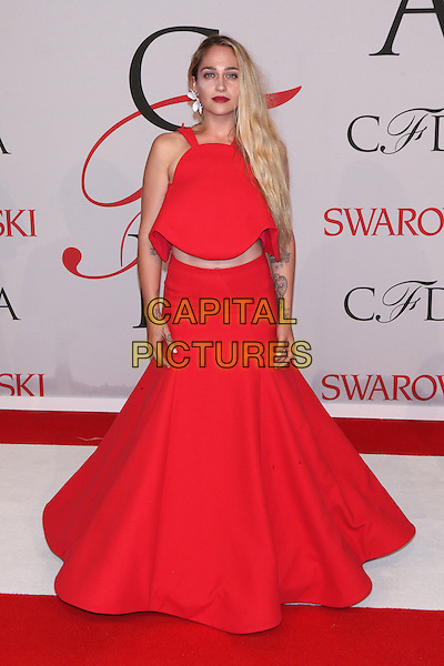 NEW YORK, NY - JUNE 1: Jemima Kirke at the 2015 CFDA Fashion Awards at Alice Tully Hall, Lincoln Center in New York City on June 1, 2015. <br /> CAP/MPI/COR99<br /> &copy;COR99/MPI/Capital Pictures