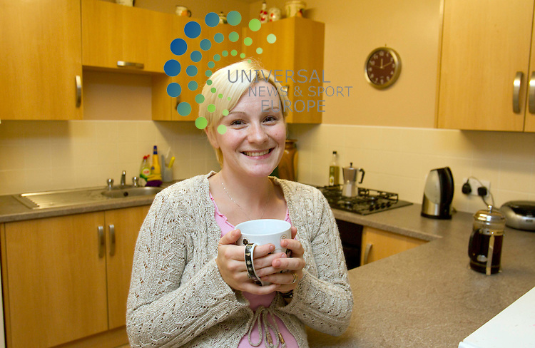 Eileen Fowler (28)  -  Cowal Drive Linwood .Picture: Universal News And Sport (Europe) 29 September 2011.