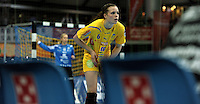 Handball Frauen / Damen  / women 1. Bundesliga - DHB - HC Leipzig : Frankfurter HC - im Bild: Louise Lyksborg . Porträt . Foto: Norman Rembarz .