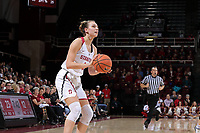 STANFORD, CA - January 26, 2018: Stanford Women's Basketball defeats Arizona State, 74-50 at Maples Pavilion.