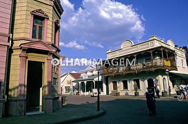 Antiga vila mineira, Gold Reef City. África do Sul. 1995. Foto de João Caldas.